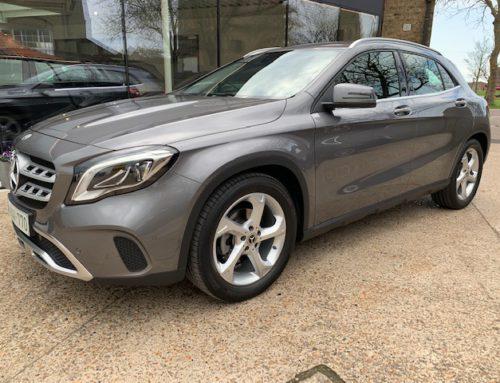 Mercedes GLA Nieuw binnen