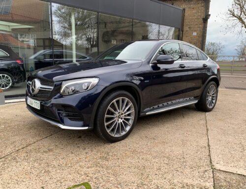 Mercedes GLC 350 E 4 MATIC Coupé – Benzine +Elektrisch