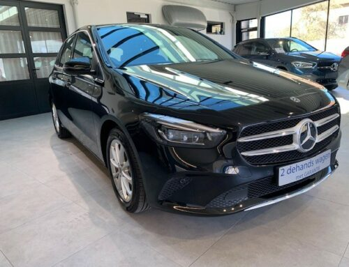 Mercedes B 200 –  8800 km – Achteruitrijcamera – Automaat – Benzine – Bouwjaar: Sept. 2019